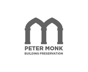 peter-monk-building-preservation-logo-design