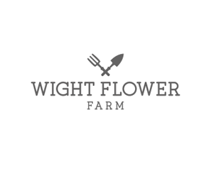 wight-flower-farm-logo-design