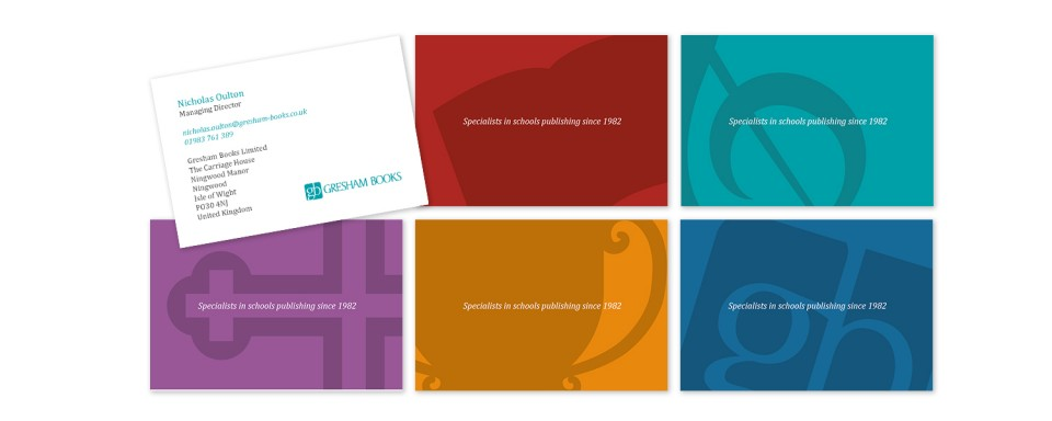 Gresham-Books-business-card-design
