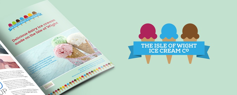 isle-of-wight-ice-cream-advert-design