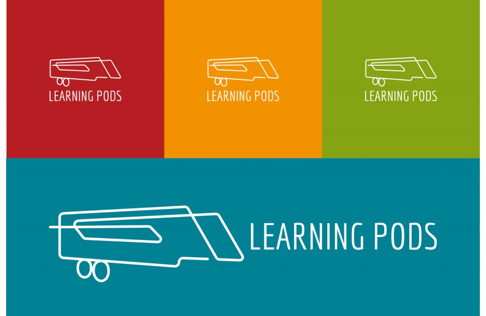 learning pods logo suite