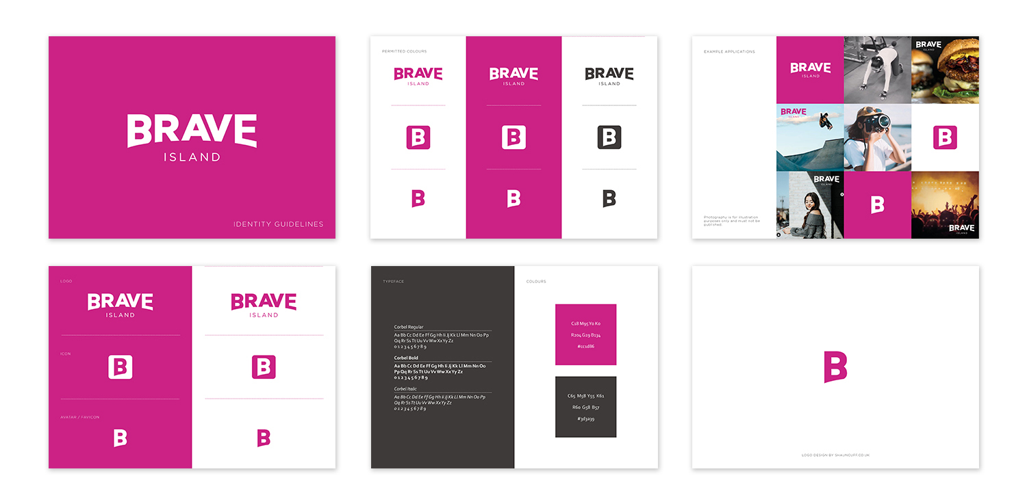 brave island identity guidelines