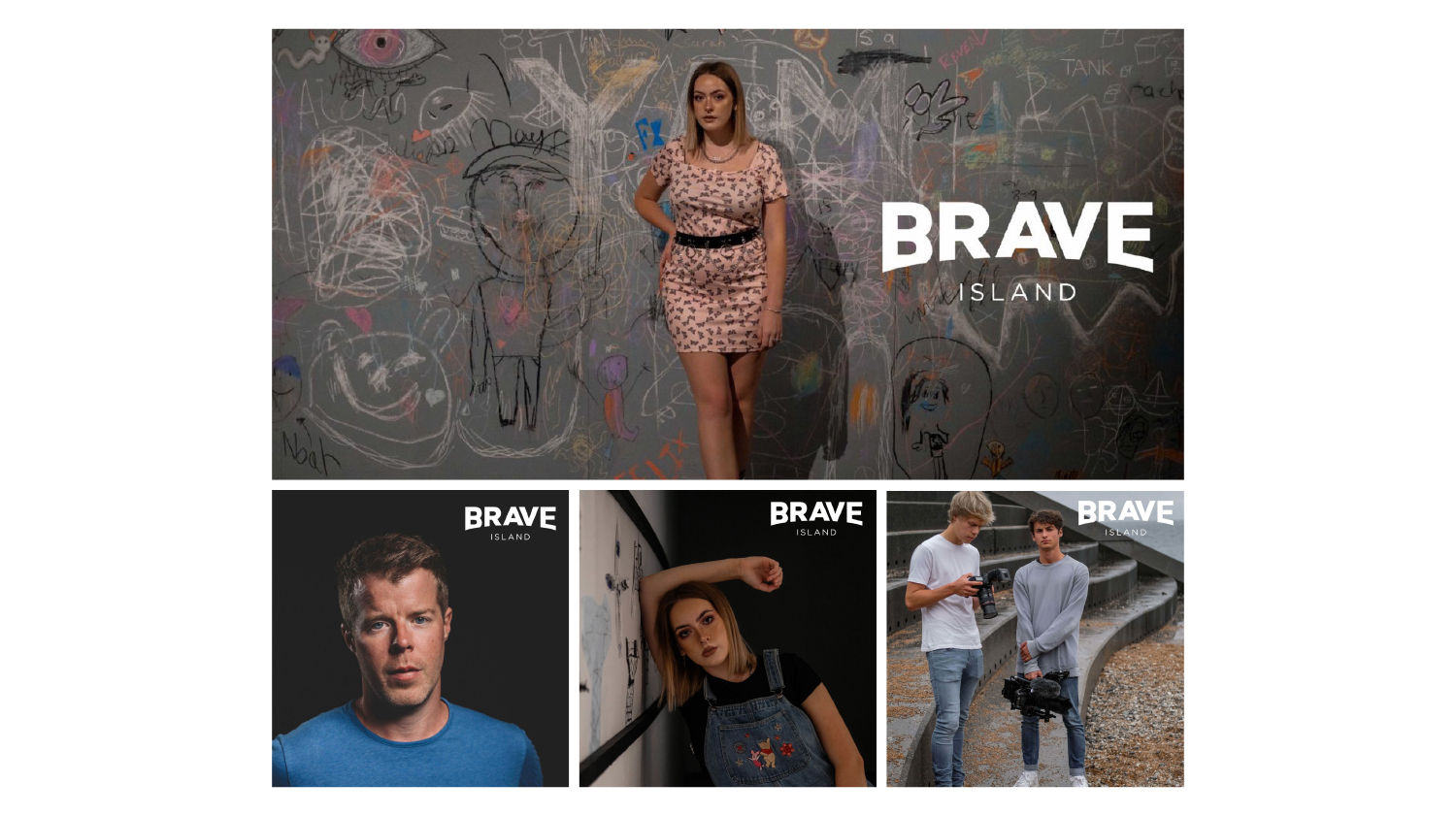 brave island photography montage