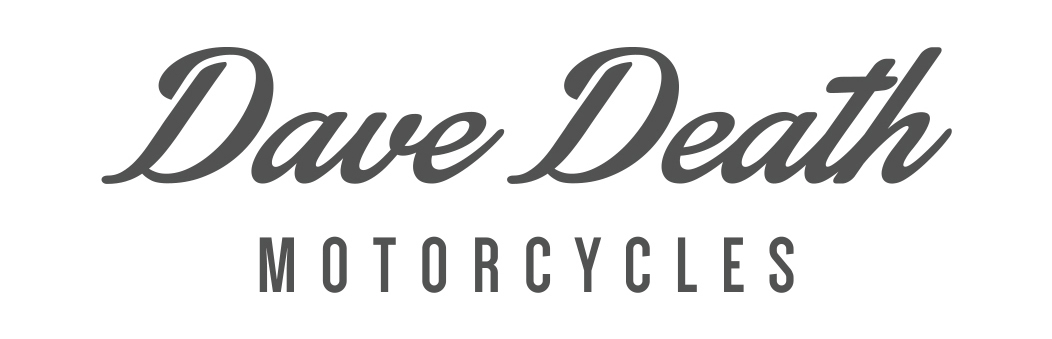 dave death motorcycles logo design