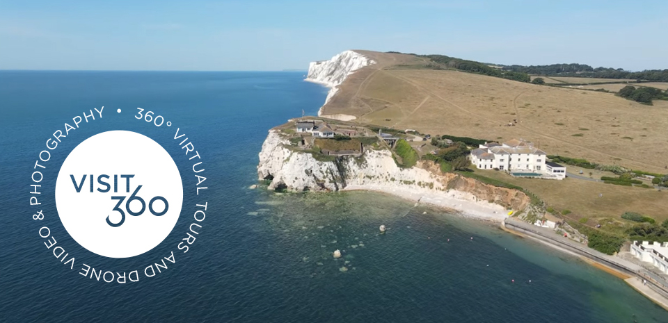 visit360 isle of wight logo design header