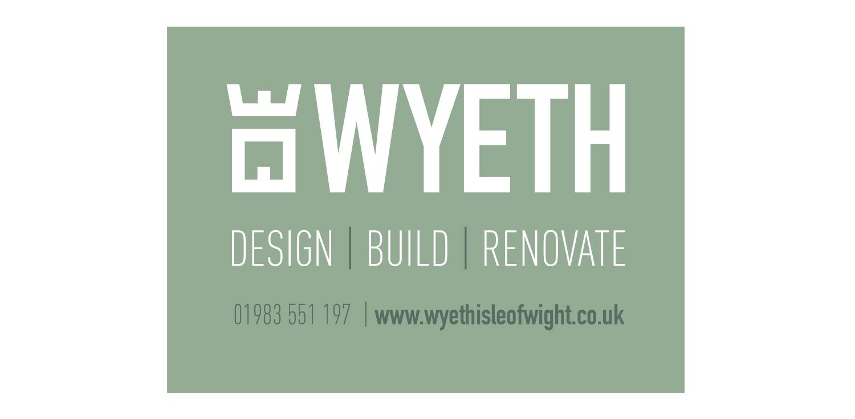 wyeth isle of wight builder site board design