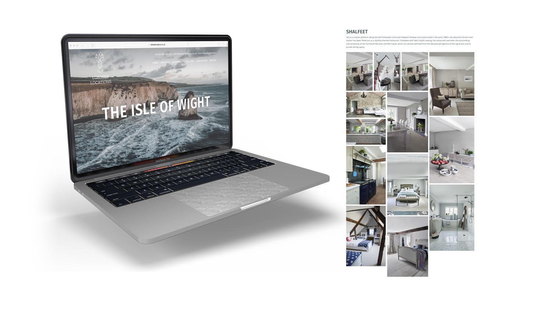 lobster locations website design