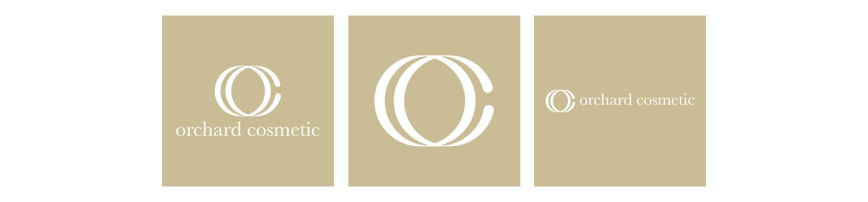 orchard cosmetics isle fo wight logo design set 02