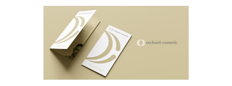 orchard cosmetics isle of wight brochure designs